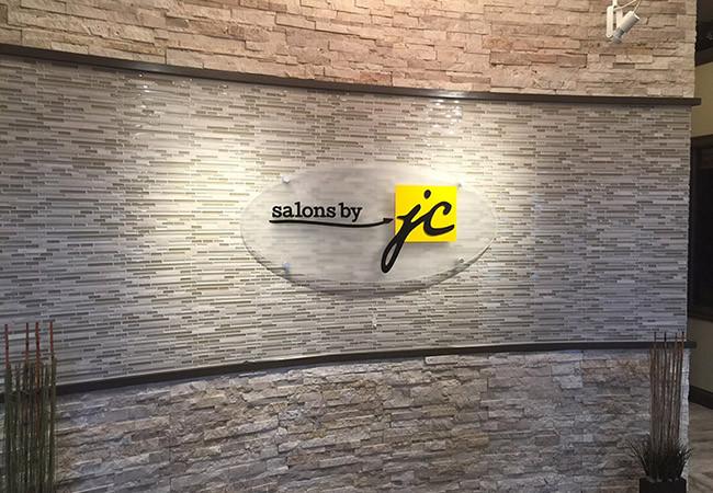 JC lobby sign