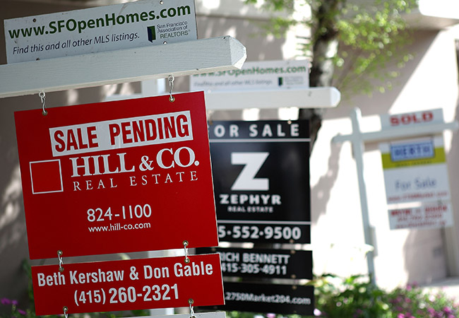 Sales Of Existing Homes Declines In February