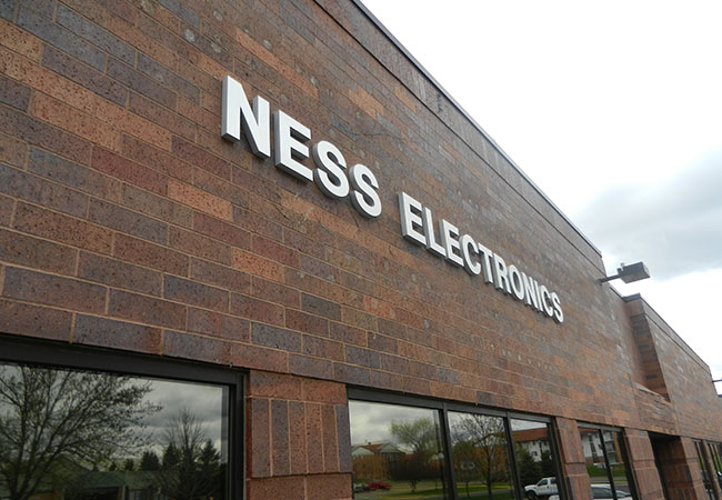 Ness Electronics Dimensional